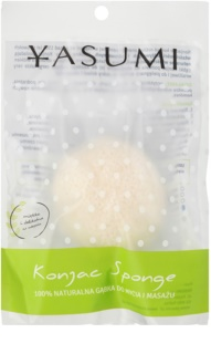 Yasumi Konjak Pearl Gentle Facial Sponge for All Skin Types Including Sensitive