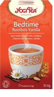 Yogi Tea Bio čas ke spánku rooibos vanilka