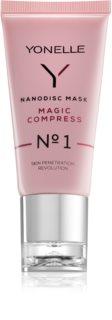 Yonelle Nanodisc Mask Magic Compress N° 1 intenzivna maska za trenutno poboljšanje izgleda kože lica 40+