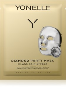 Yonelle Diamond Party Mask mascarilla hoja con efecto hidratante y revitalizante
