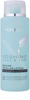 Yonelle Yoshino Pure&Care Micellar Water with Betaine for Intensive Hydration