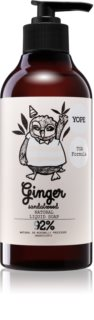 Yope Ginger & Sandalwood Hand Soap