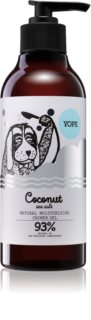 Yope Coconut & Sea Salt Natural Shower Gel with Moisturizing Effect