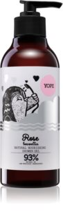 Yope Rose & Boswellia Natural Shower Gel with Nourishing Effect