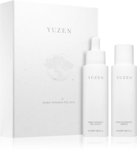 Yuzen Duo Weekly Intenstive Peel козметичен комплект (за възобновяване на повърхността на кожата)