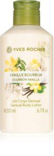 Yves Rocher Bourbon Vanilla tápláló testápoló tej vanília kivonattal