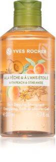 Yves Rocher Peach & Star Anise energizáló tusfürdő gél