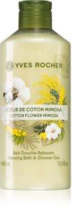 Yves Rocher Cotton Flower Mimosa sprchový gél