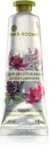 Yves Rocher Lotus Flower Sage relaxáló krém kézre