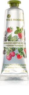 Yves Rocher Raspberry & Mint energizujúci krém na ruky