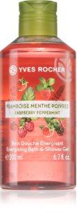 Yves Rocher Raspberry & Mint energizáló tusfürdő gél