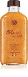 Yves Rocher Monoi de Tahiti třpytivý olej na tělo a vlasy