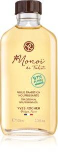 Yves Rocher Monoi de Tahiti tápláló olaj testre és hajra