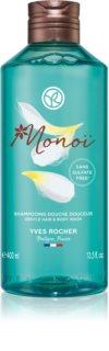 Yves Rocher Monoi de Tahiti tusfürdő gél testre és hajra