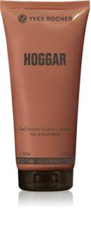 Yves Rocher Hoggar sprchový gel na tělo a vlasy pro muže
