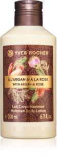 Yves Rocher Argan & Rose ošetrujúce telové mlieko