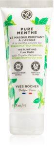Yves Rocher Pure Menthe čisticí maska s jílem