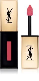 Yves Saint Laurent Vernis À Lèvres Glossy Stain дълготрайно червило и гланц за устни 2 в 1