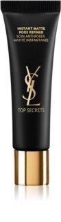 Yves Saint Laurent Top Secrets Instant Moisture Glow Ultra Moisture zmatňujúca podkladová báza pod make-up na rozšírené póry