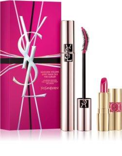 Yves Saint Laurent Mascara Volume Effet Faux Cils The Curler kozmetika szett hölgyeknek
