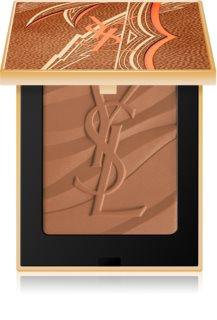 Yves Saint Laurent Les Sahariennes Bronzing Stones poudre bronzante et sculptante édition limitée