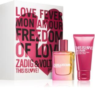 Zadig & Voltaire This is Love! Pour Elle coffret cadeau II. pour femme