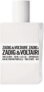 Zadig&Voltaire This is Her! Eau de Parfum pour femme