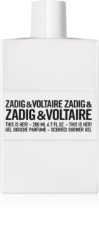 Zadig & Voltaire This is Her! gel de ducha para mujer