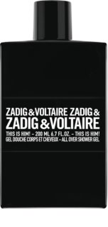Zadig & Voltaire This is Him! gel de ducha para hombre