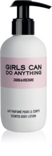 Zadig & Voltaire Girls Can Do Anything leche corporal para mujer