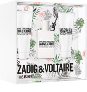 Zadig & Voltaire This is Her! Gift Set IX. for Women