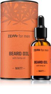 Zew Beard Oil with hemp oil Bartöl mit Hanföl