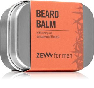 Zew Beard Balm with hemp oil bálsamo para la barba con aceite de cáñamo