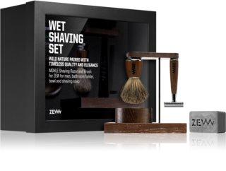 Zew Wet Shaving Set sada na vousy