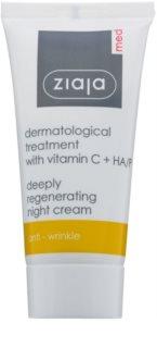 Ziaja Med Dermatological crema notte rigenerante antiossidante