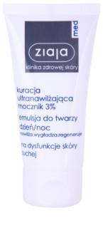 Ziaja Med Ultra-Moisturizing with Urea crema regeneratoare si hidratanta cu efect de netezire