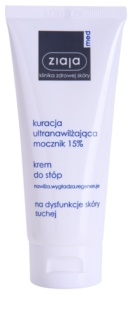 Ziaja Med Ultra-Moisturizing with Urea Regenerating Moisturising Foot Cream for Calloused Skin