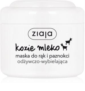 Ziaja Goat's Milk maska na ruce a nehty