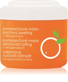 Ziaja Orange Butter gel de dus exfoliant
