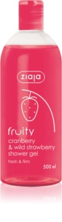 Ziaja Fruity Cranberry & Wild Strawberry gel douche hydratant