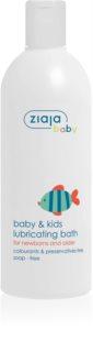 Ziaja Baby олио за вана за деца от раждането им