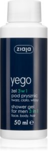 Ziaja Yego Body Wash for Men 3 in 1