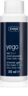 Ziaja Yego sprchový gel pro muže 3 v 1