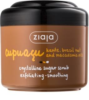 Ziaja Cupuacu exfoliant pentru corp cu zahăr