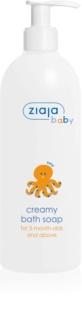 Ziaja Baby кремообразен хипоалергенен сапун за деца на възраст от 3 месеца