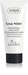 Ziaja Kozie Mleko delikatny peeling oczyszczający do twarzy i szyi
