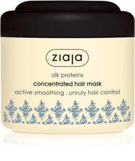 Ziaja Silk máscara alisadora para cabelo seco a danificado