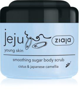 Ziaja Jeju Young Skin захарен скраб за тяло