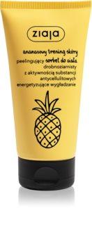 Ziaja Pineapple delikatny sorbet do ciała z efektem peelingu