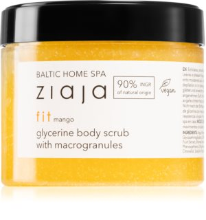 Ziaja Baltic Home Spa Fit Mango peeling gruboziarnisty z gliceryną